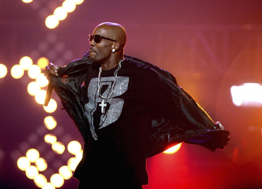 FILE- In this Oct. 1, 2011 file photo, DMX performs during the BET Hip Hop Awards in Atlanta. The late rapper will be honored at Sunday's BET Awards. ...