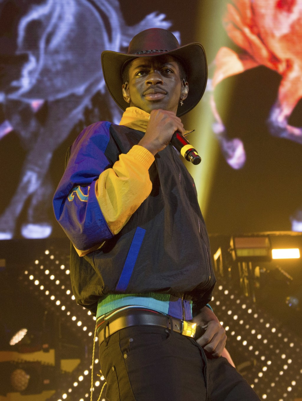 FILE - Lil Nas X performs at HOT 97 Summer Jam 2019 on June 2, 2019, in East Rutherford, N.J.  Lil Nas X will perform at Sunday's BET Awards. (Photo b...