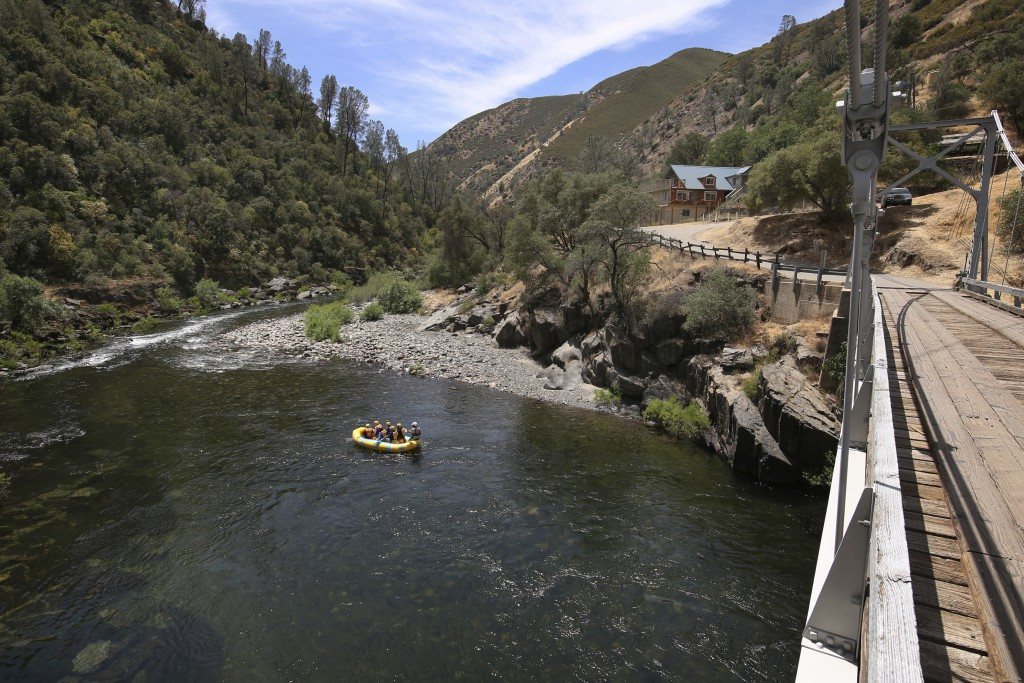 A scenic area and a house on the right which is powered by Pacific Gas & Electric's new Remote Grid Initiative site near Yosemite National Park is sho...