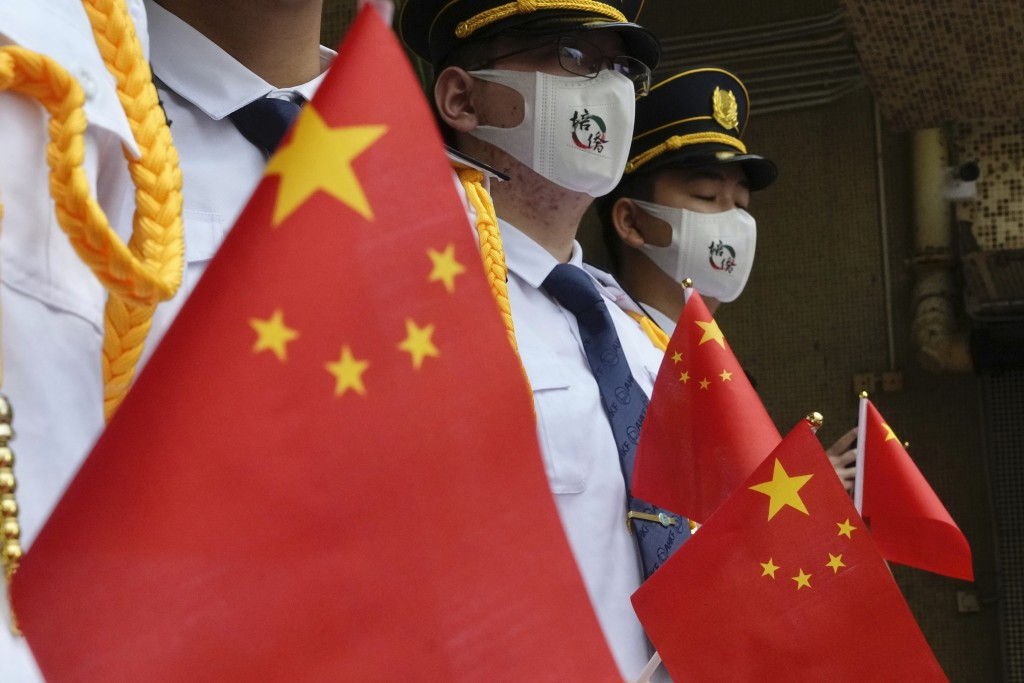中共於2021年7月1日迎來百年黨慶(圖/法新社)