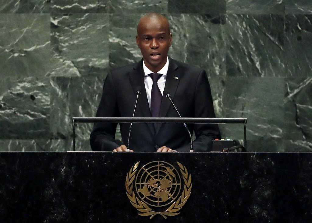海地總統摩依士(Jovenel Moise)7日凌晨遇刺身亡,當地進入戒嚴,有槍手遭擊斃或逮捕。(圖/美聯社)