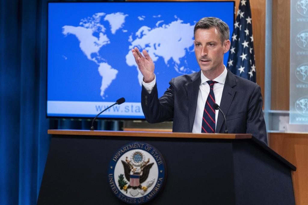 美國國務院發言人普萊斯(Ned Price)今(11)日譴責中國對立陶宛的報復性行徑。