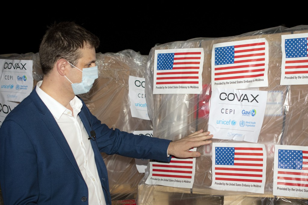 Boxes containCOVID-19 vaccines. (AP Photo)