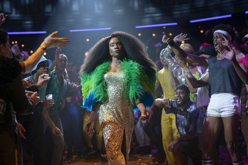 """This image released by FX shows Billy Porter in a scene from """"Pose."""" The program was nominated for an Emmy Award for outstanding drama series. (Michae..."""