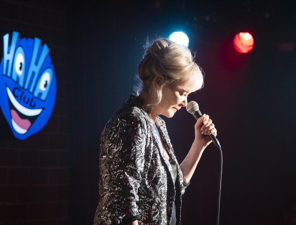 """This image released by HBO Max shows Jean Smart in a scene from """"Hacks."""" The program was nominated for an Emmy Award for outstanding comedy series. (H..."""