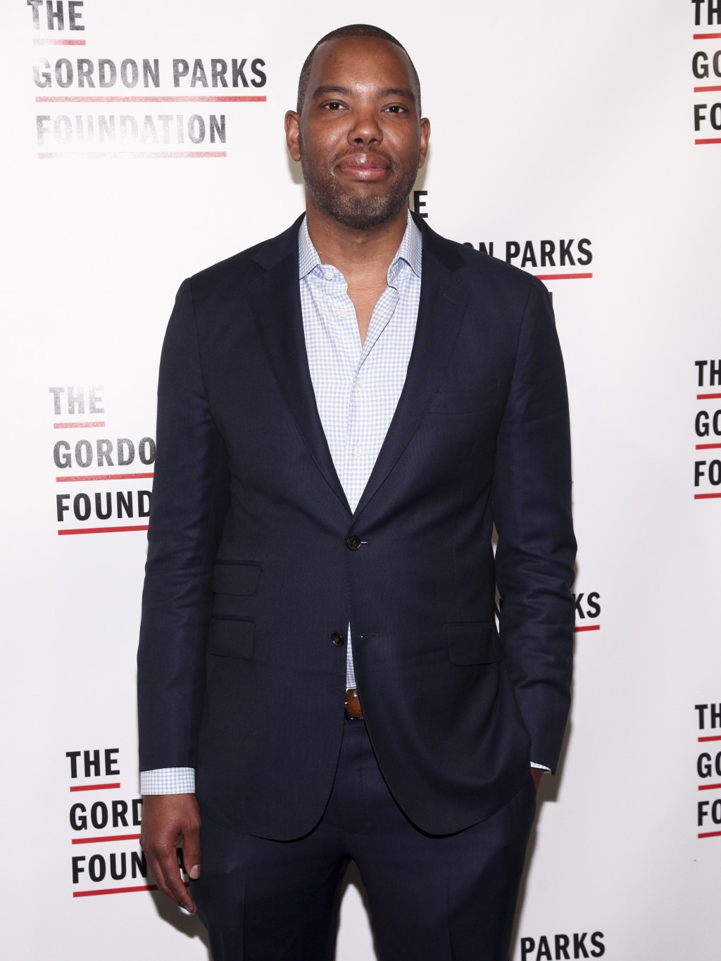 FILE - In this Tuesday, May 22, 2018, file photo, Ta-Nehisi Coates attends the The Gordon Parks Foundation annual Awards Gala at Cipriani 42nd Street,...