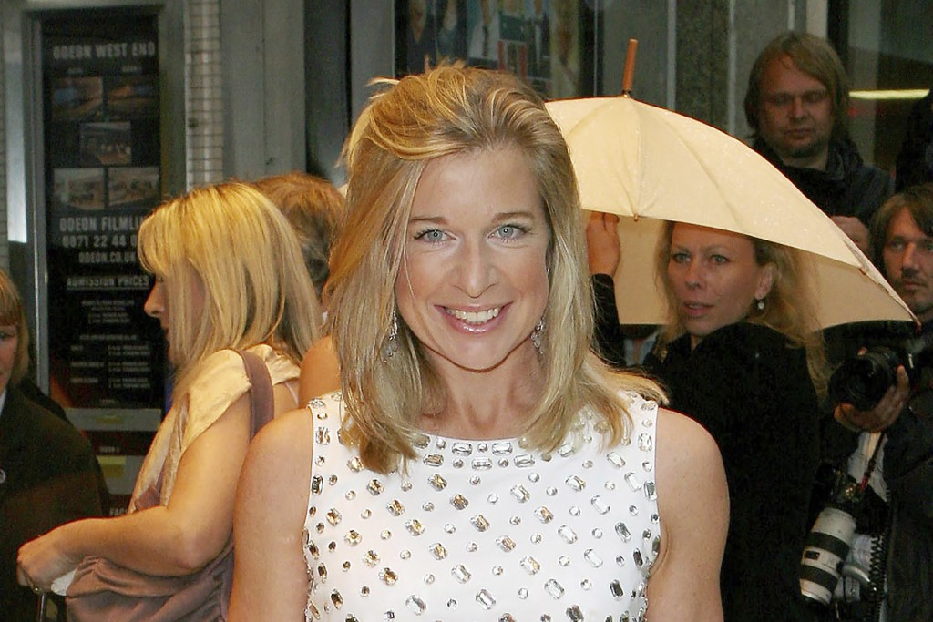 """FILE - In this July 5, 2007, file photo, Katie Hopkins arrives at the film premiere of """"Hairspray"""" in London. Australian officials said Monday, July 1..."""