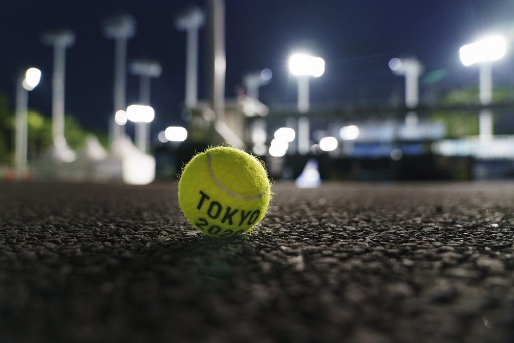 東京奧運網球場館(圖/AP)