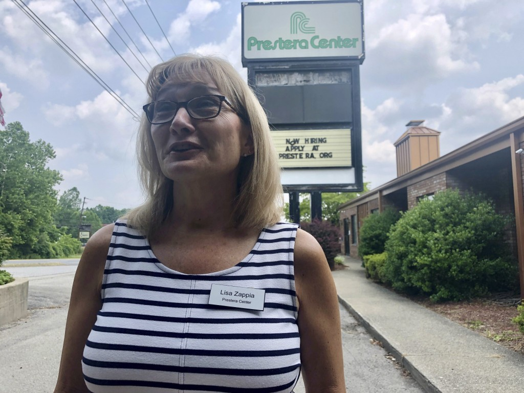 Lisa Zappia, chief executive officer of mental health and addiction treatment services provider Prestera Center, speaks during an interview Wednesday,...