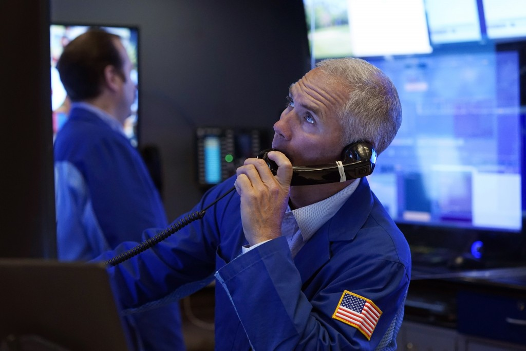 Trader works on the floor of the New York Stock Exchange, Friday, July 23, 2021.