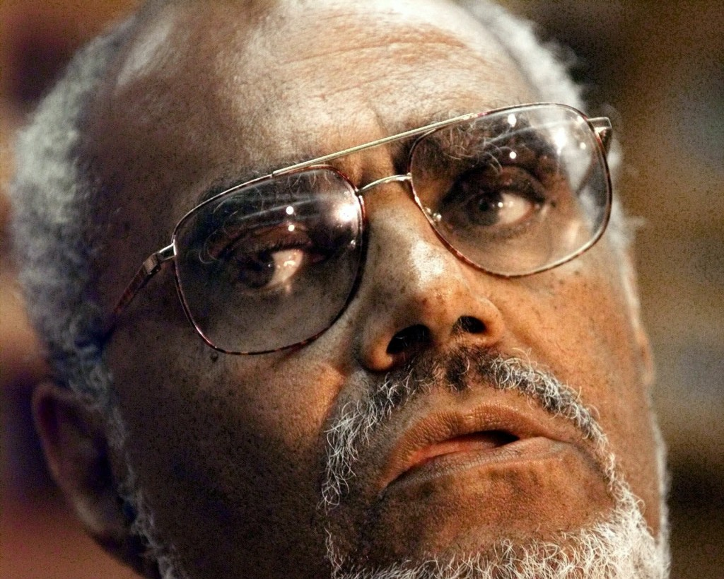 """FILE - In this July 19, 2000 file photo, Robert """"Bob"""" Moses, a veteran civil rights activist and founder of the Algebra Project, a math literacy progr..."""
