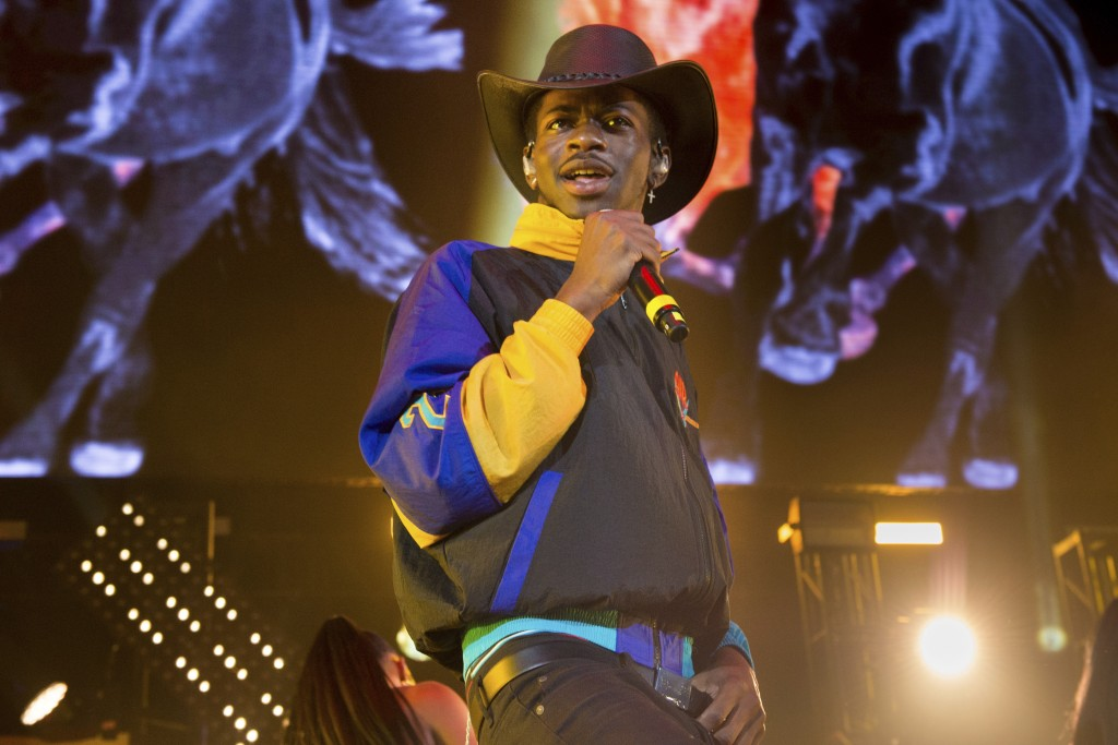 FILE - Music artist Lil Nas X performs at HOT 97 Summer Jam in East Rutherford, N. J. on June 1, 2019.  The rapper will perform at the 2021 MTV Video ...
