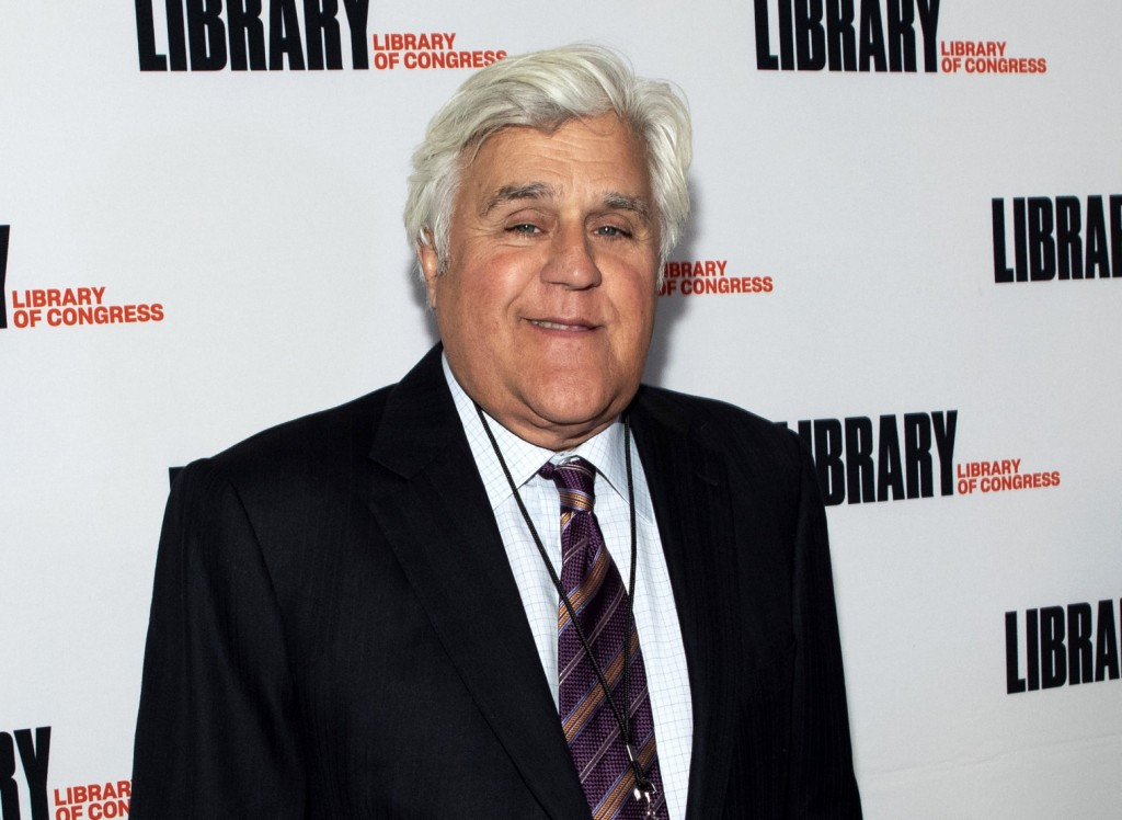 """FILE - Jay Leno attends the Gershwin Prize Honoree's Tribute Concert in Washington on March 4, 2020. Leno is host of """"You Bet Your Life,"""" a reboot of ..."""