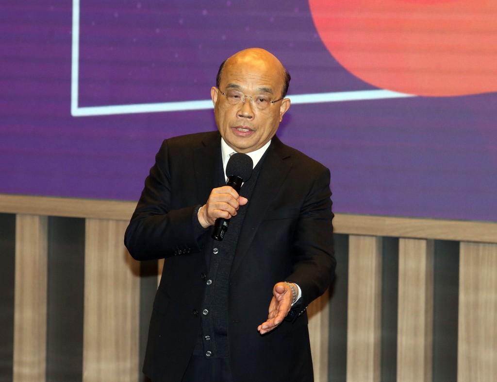 Premier Su Tseng-chang.