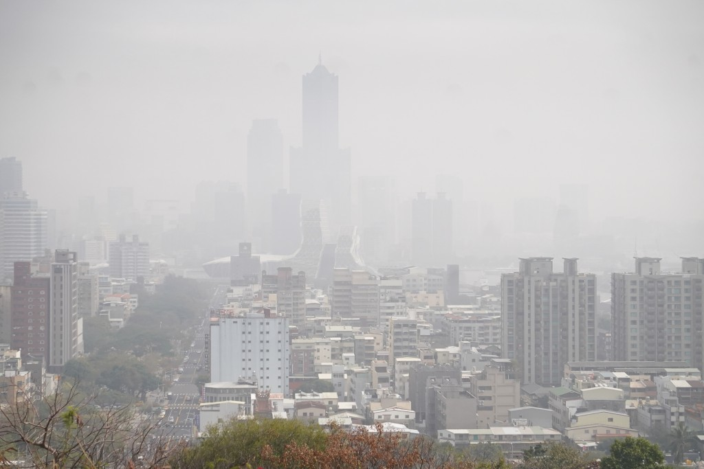 20 stations flash red alert for 'unhealthy' air in southern Taiwan