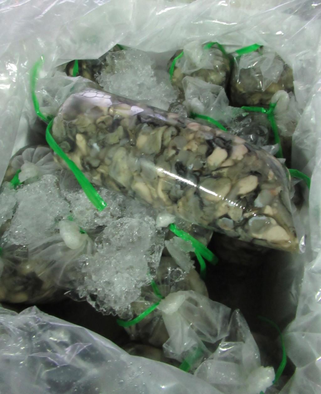 根據食藥署最新邊境查驗違規名單,多達255公斤越南 生蚵肉被驗出諾羅病毒,另有270公斤驗出A型肝炎病毒 ,違規產品通通遭退運銷毀。...