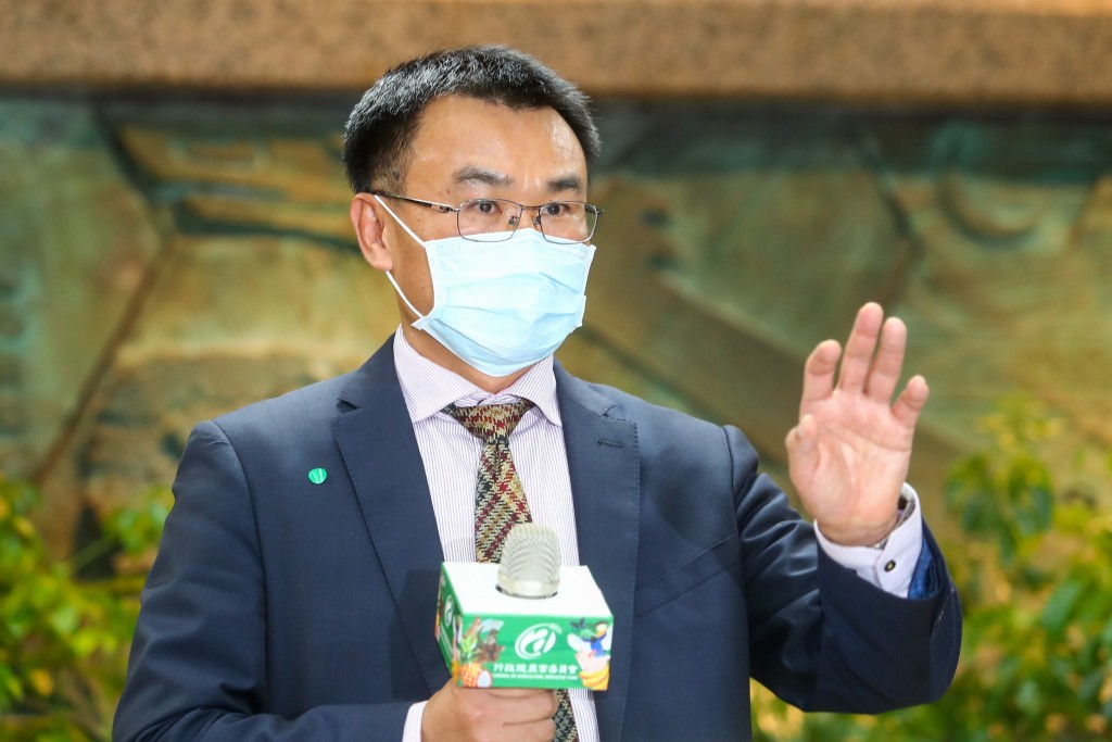 Minister ofCouncil of Agriculture Chen Chi-chung