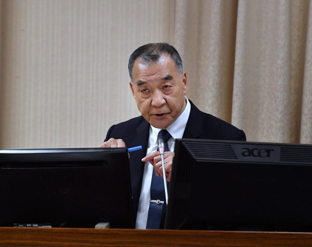 Taiwan Minister of Defense Chiu Kuo-cheng.