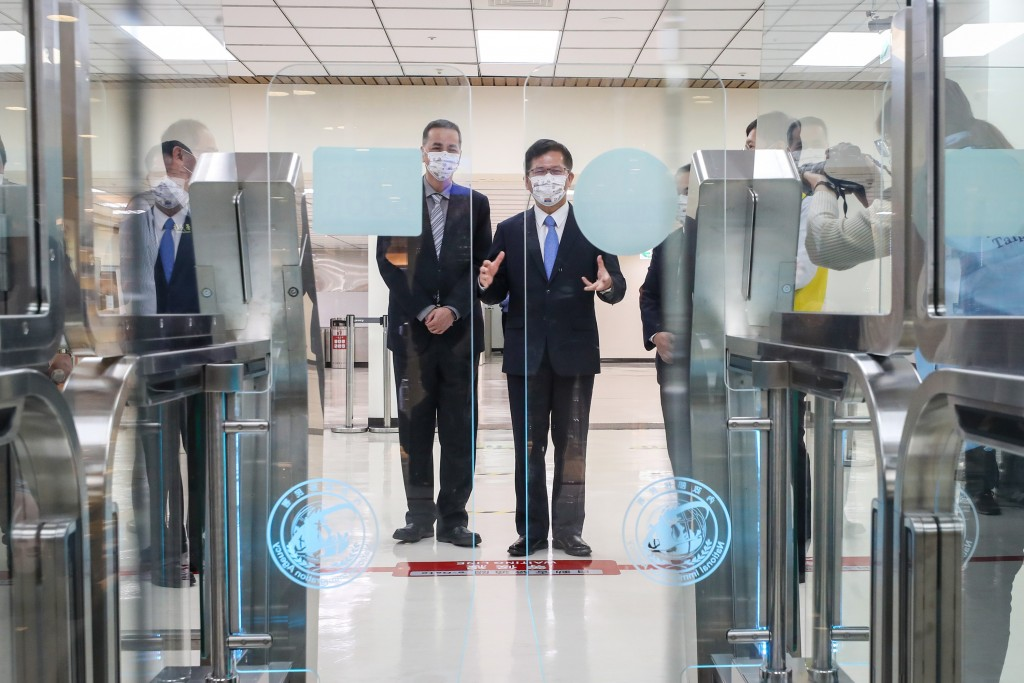 Taipei Songshan Airport rolls out facial scans for passenger boarding