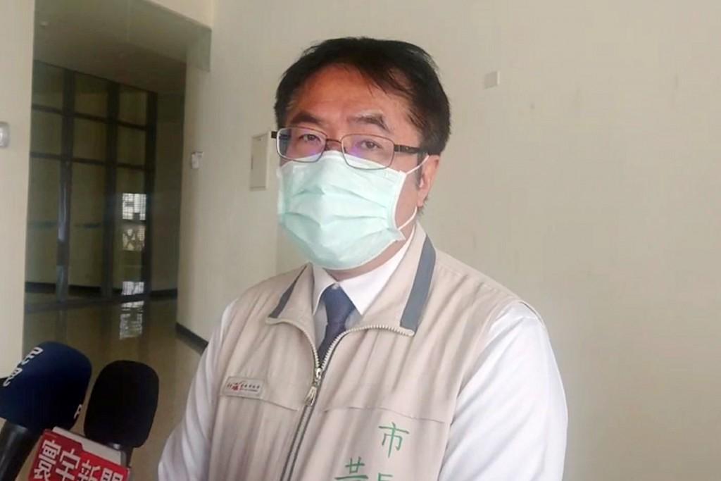 Tainan City Mayor Huang Wei-che