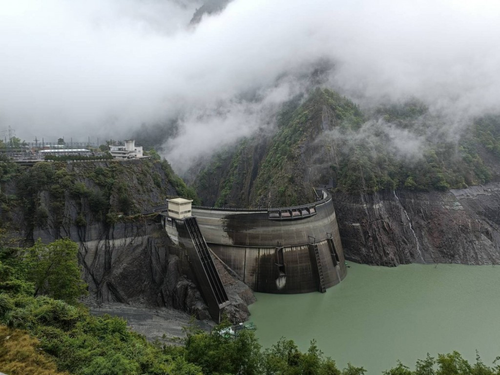 Techi Reservoir. (Photo from reader)