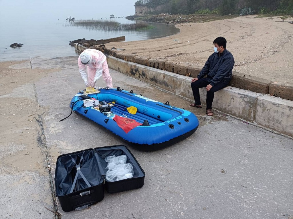 Second Chinese man in 5 days flees to Taiwan in rubber boat