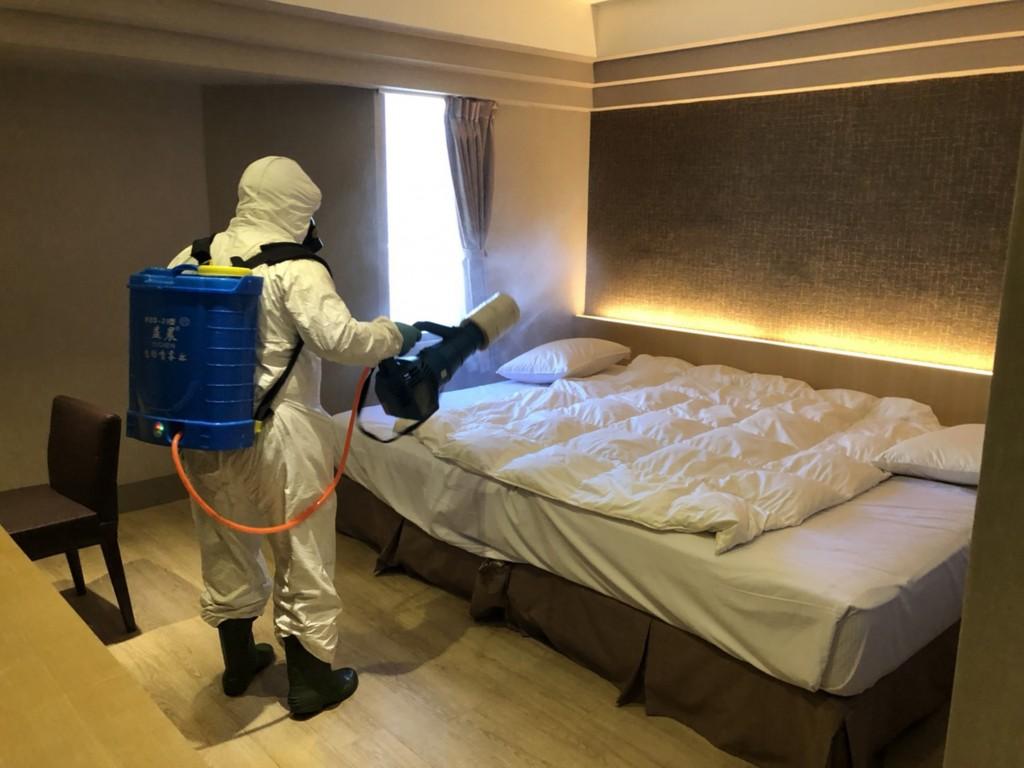 Quarantine hotel in Kaohsiung