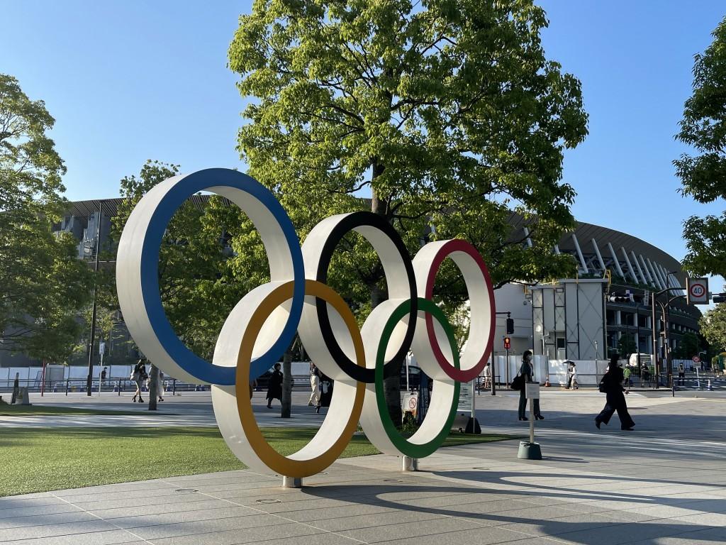 東京奧運停辦與否,日本境內反對聲浪不斷。朝日新聞今(25)日公開表態應當停辦。( 來源:中央社)
