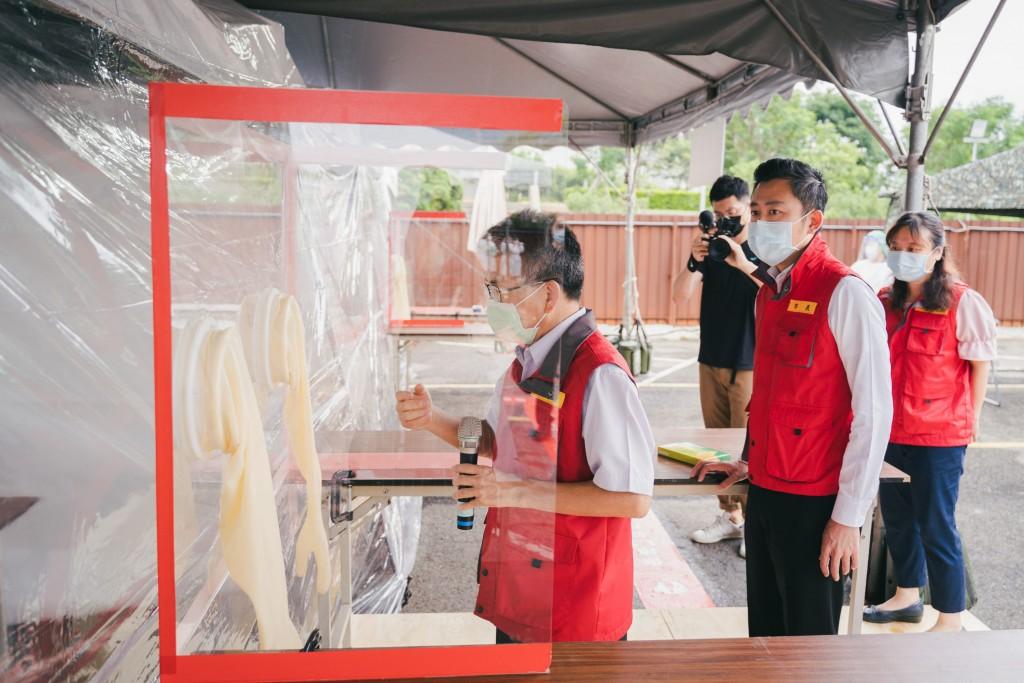 新竹市政府設立臨時性的「竹科專案篩檢站」