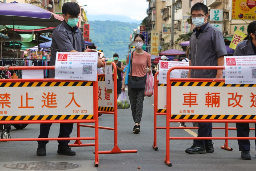 Level 3 restrictions seen in Taipei over Dragon Boat Festival weekend.