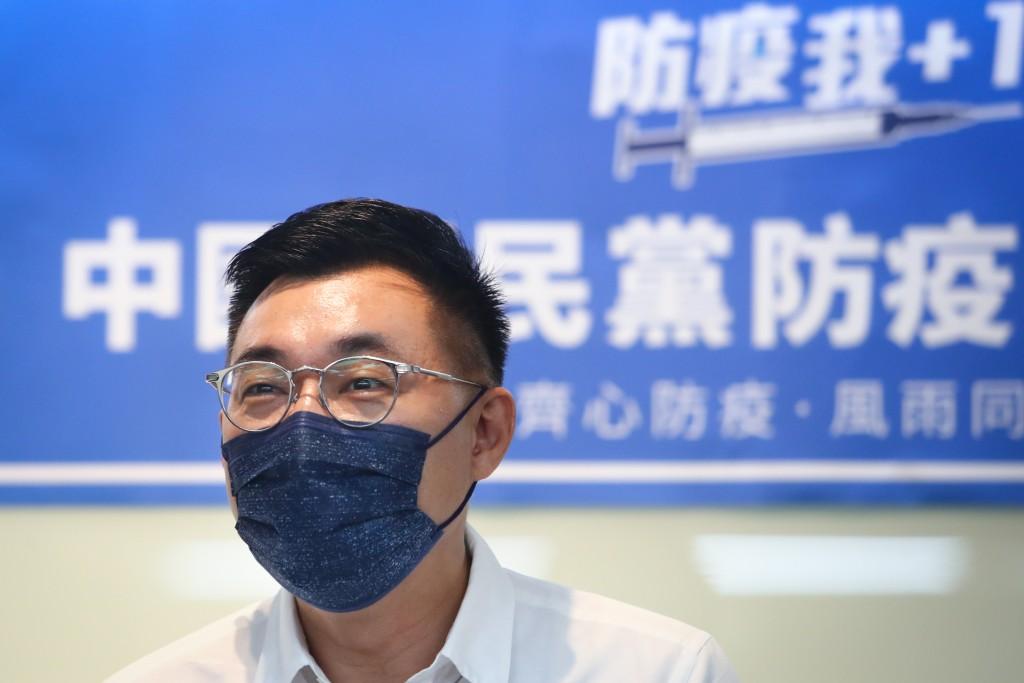 國民黨主席江啟臣。
