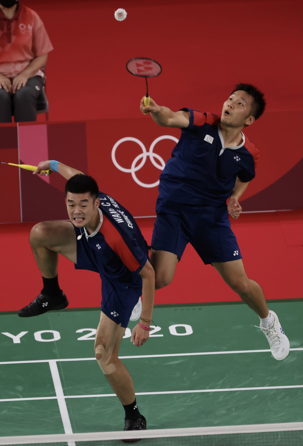 Taiwanese badminton doubles players enter Olympic semifinals for 1st time in history