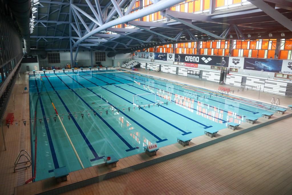 Swimming pool in New Taipei.