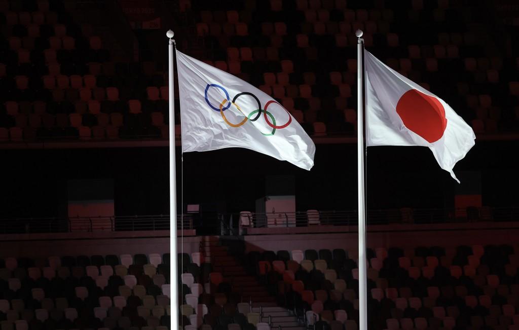 2020東京奧運8日晚間在新宿國立競技場舉行閉幕典禮,交棒2024年巴黎奧運。