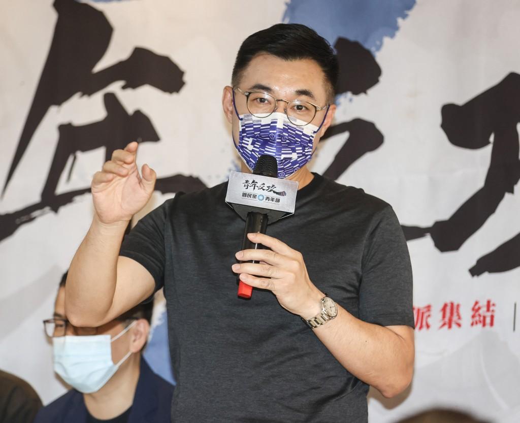 國民黨青年部12日舉辦「網紅青年營」活動,黨主席江 啟臣出席開幕式並致詞。