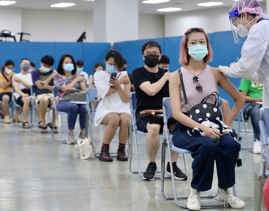Taiwan has higher 1st-dose vaccination rate than 15 US states