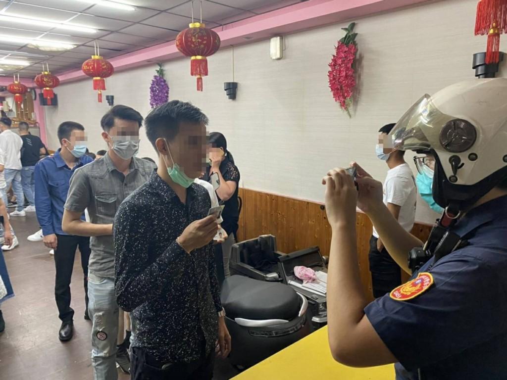 102 Vietnamese workers violate indoor crowd limit in northern Taiwan