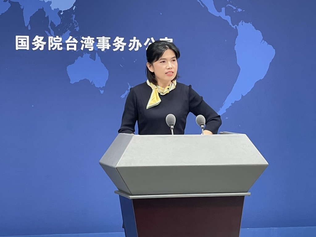 """China's Taiwan Affairs Office spokesperson Zhu Fengliansays Taiwanese celebrities suffered online bullying due to """"political influences..."""