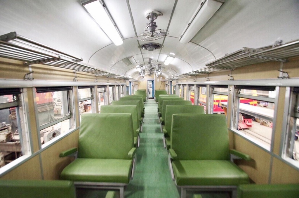 """""""Anxiety relief"""" train brought back to life in southern Taiwan."""