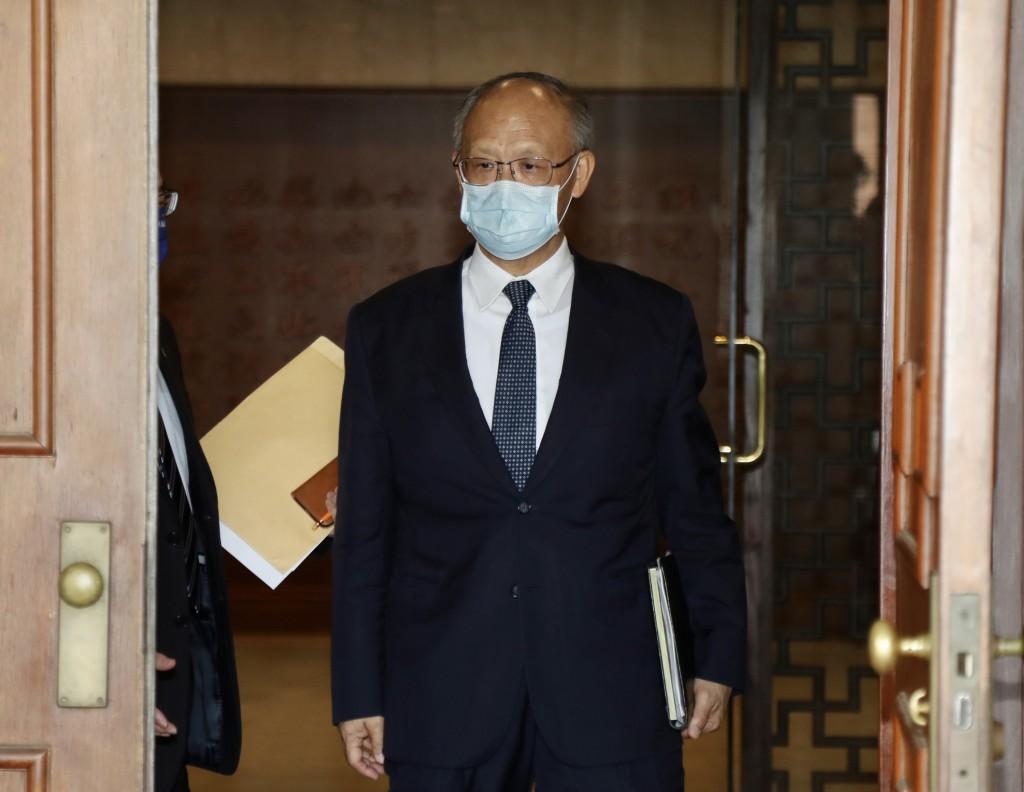 Taiwan's Trade Representative Deng Chen-chung.