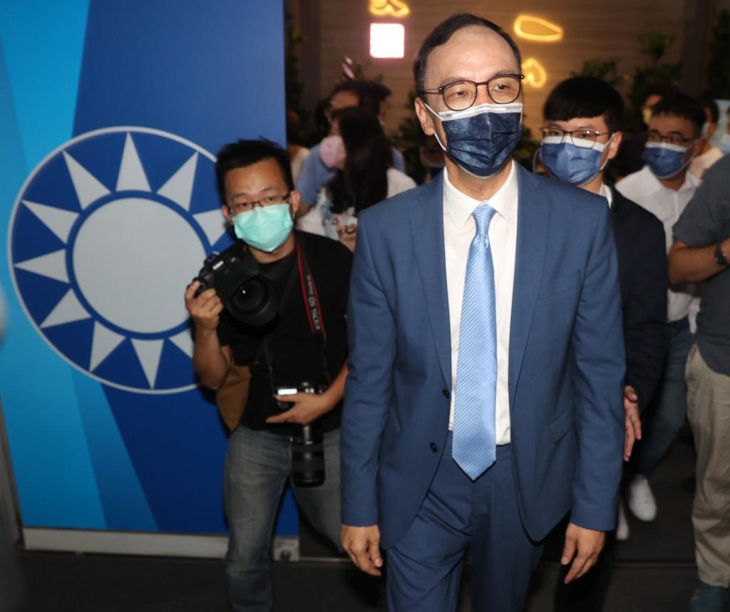 Newly elected KMT Chairman Eric Chu.