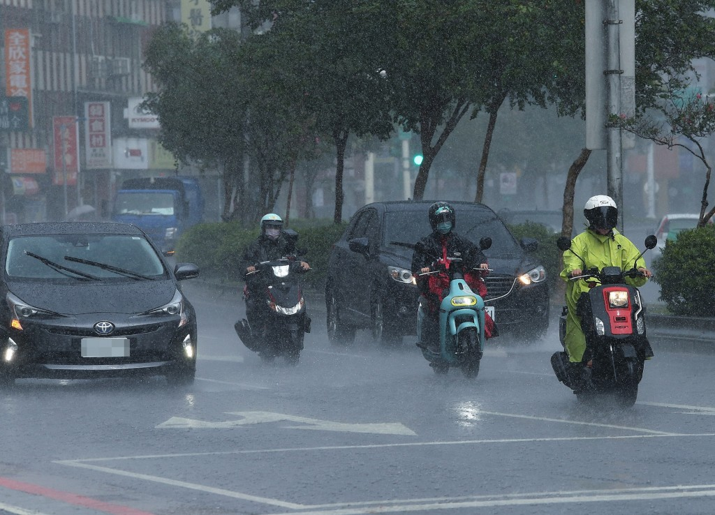 Northern andeastern Taiwan have been hit with torrential rain.