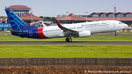 Indonesia: Sriwijaya Air plane missing shortly after takeoff