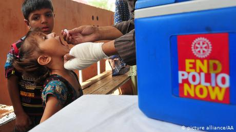 Pakistan started its first nationwide polio eradication campaign in 1994