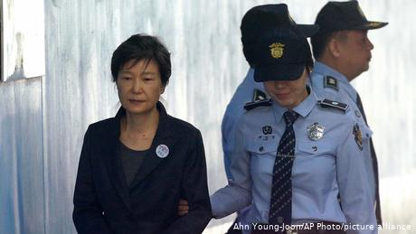 South Korea's first female president was impeached in 2017