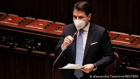 Prime Minister Giuseppe Conte faces a confidence vote in the lower house of parliament