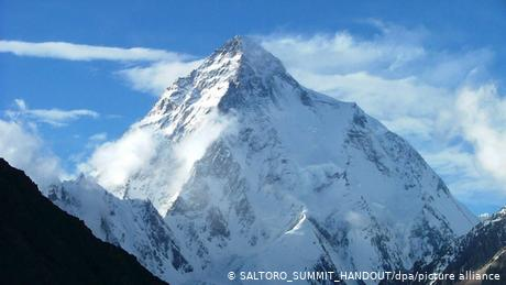 K2 is one of the most dangerous climbs in the world