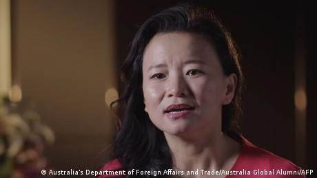 """The Australian government has raised """"serious concerns"""" about Ceng Lei's detention"""