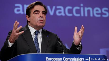 EU commissioner defends vaccine strategy as 'success in the making'