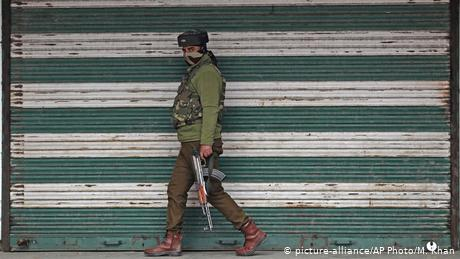 India beefed up security in Kashmir after it scrapped the region's special status in 2019